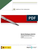 Currículum Benito Rodríguez Arbeteta