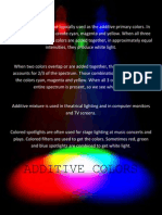 Additive Colors