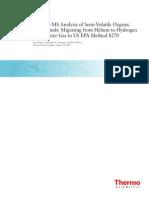 Helio Para Hidrogenio Gc Ms
