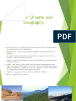 african climate and geography