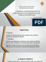 Influencias y Concepciónes de Las Narconovelas Colombianas En