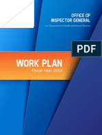 OIG 2015 Work Plan
