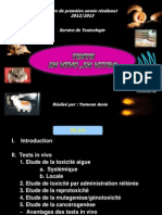 Test in vivo in vitro Yamoun Assia 2014