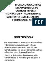 5.-Tipos Tratamiento de Substratos . Esterilizacion Del Aire