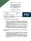 Contract of Preschool