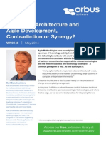 Enterprise Architecture and Agile Development