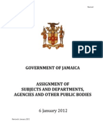 GOJ Subjects Assignments 2012