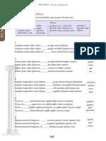 Ejercicio para pronombres relativos y lectura (latín)