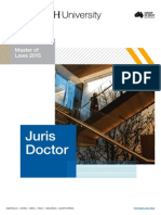 Monash Law Juris Doctor Course Guide 2015