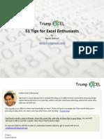 51 Excel Tips - Trump Excel