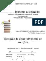 Desenvolvimento de Coleções