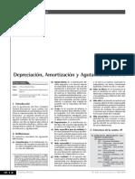 Depreciación, Amortización y Agotamiento (Parte I)