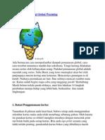 14 Cara Mengurangi Global Warming