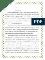 classroom management letter