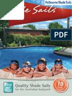 Melbourne Shade Sail Brochure