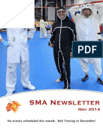 Nov '14 SMA Newsletter