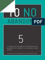 5 manual para acompaar las decisiones de los estudiants
