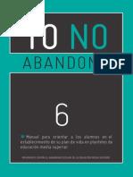 6 manual para orientar a los alumnos en su plan de vida