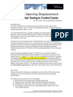 Crack Tip Opening Displacement-WPHead