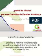 programaestataldefortalecimientodevalores-130829180258-phpapp01
