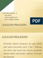 Alkaloid Pirolizidin Ppt