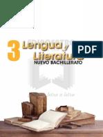 Literatura Nuevo Bachillerato 3
