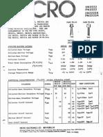 Hoja de datos del componente 2N2222A,2