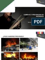 Combate y Prevencion de Incendios