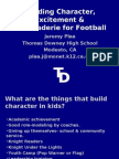 Building Character, Excitement & Camaraderie for Football