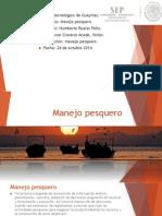 MANEJO PESQERO