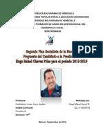Segundo Plan Socialista 2013-2019 Análisis