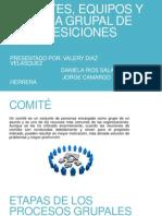 Comites, Equipos y Toma Grupal de Desiciones