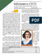 Informativo CETJ OUTUBRO 2014