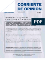 Discriminación positiva y protección a la diversidad, sept. de 2003 - Fundación Chile Unido 297