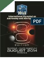 Iran Astronomy Problem Set 2014