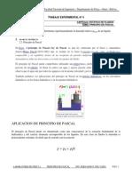Trabajo Experimental Principio de Pascal
