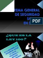ley 100 en Colombia