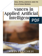 Advances in Applied Artificial Intelligence - John Fulcher