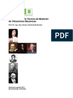 Introducción a Técnica de Medición de La Vibraciones Mecánicas UIS 2011