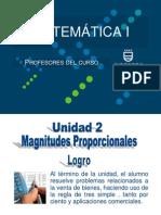 2014-II Ppt Magnitudes Proporcionales-Unidad II (0143)