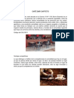 Plan de Negocio Cafe Bar Caffeto