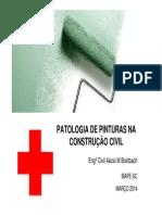 Apresentação Patologia Da Pintura Construção Civil