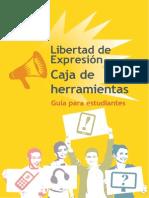 Caja de Herramientas, Libertad de expresion. Guia para estudiantes de periodismo.