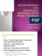 Validasi Pengisian 2014 Ver 4