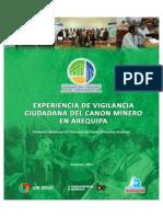 Experiencia de Vigilancia del Canon Minero en Arequipa