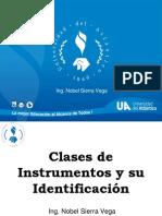 Clases de Instrumento y Nomenclatura