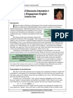 Applications of Discourse Intonation