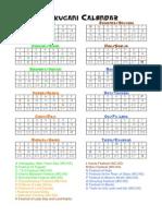 L5R Rokugani Calendar