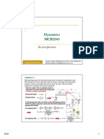 Dynamics Revision