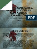 Contexto Politico y Social en Neon Genesis Evangelion